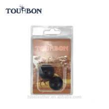 Large and small size rubber bolt handle knob