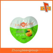 Pacote de alimentos personalizado especial em forma de garrafa de plástico saco saco de embalagem