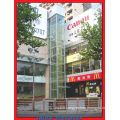 Safety Glass Semi-Circle Sightseeing Elevator Observation Lift
