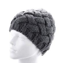 Сделано на заказ Модные женские рука-вязаные трикотажные зимние шапки