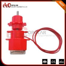 Dispositivos de bloqueo de seguridad de válvula universal con cable de nylon