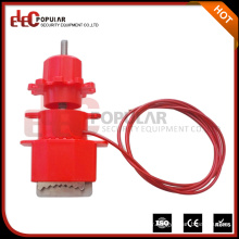 Elecpopular New Products 2016 Universal Valve Safety Lockout Devices With Nylon Cable