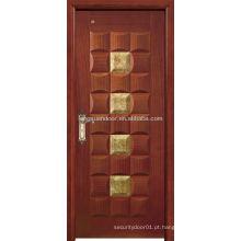 Portas de madeira de madeira de teca