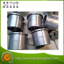 ASTM B363 Gr12 titane talon fin