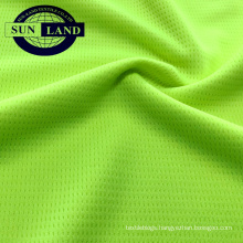 100 polyester mesh fabric moisture wicking sportswear fabric