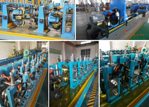 High Frequency Welded Round Pipe Machine