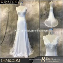 2016 новое Прибытие реальную картину свадебные платья Гость Гуанчжоу