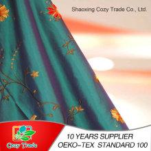 100% Polyester Taft, Nylon + Polyester Taft Stoff mit Blumenstickerei Stoff für Vorhang Kissen Tischdecke und andere Dekoration