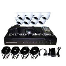 """8CH DVR Kits + 800tvl 1/3 """"CMOS Interior Dome Cámaras"""