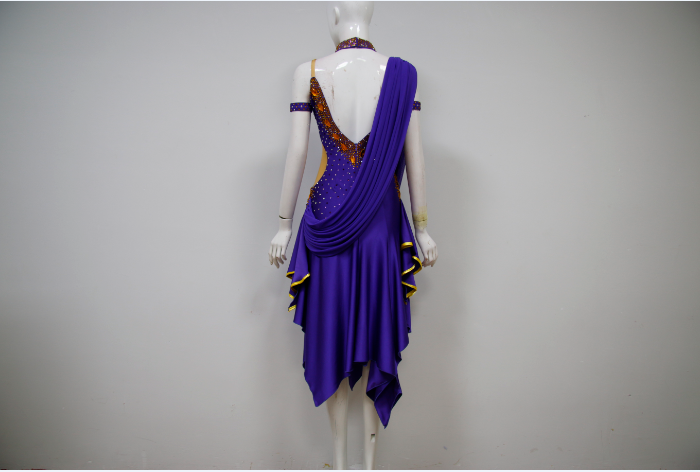 Latin Rhythm Dress