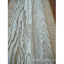 Delicate Engineered 3 Layers Elm Parquet Solid Wood Flooring