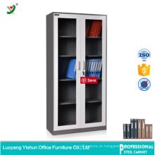 armário de fechamento seguro da exposição personalizada da prateleira com prateleira