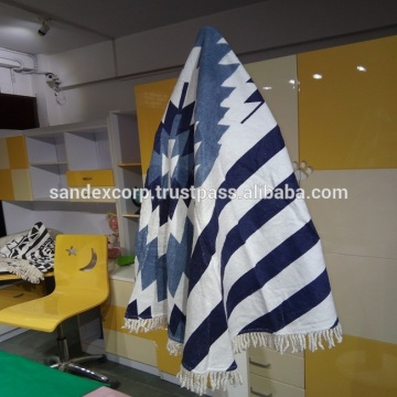 Round Throw Blanket