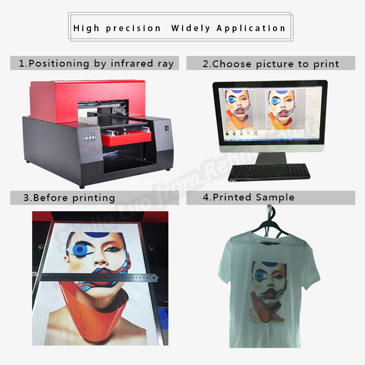Custom Clothes Printing Machine