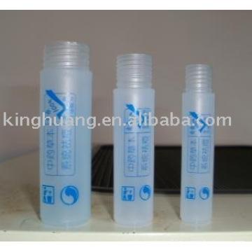 Rolo de brilho labial em garrafa com impressão serigráfica