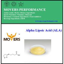 Acide Lipoïque Alpha Naturel Naturel de Haute Qualité (ALA)
