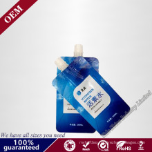 Standing up Plastic Bag with Suction Nozzle / Stand up Plastic Pouch Bag