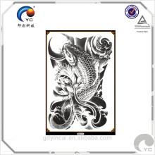 Etiqueta engomada temporal personalizada del tatuaje del cuerpo especializada en adhorning