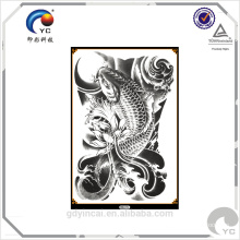 Customized temporary body tattoo sticker specialized in adhorning