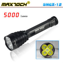 Maxtoch SN6X-12 Cree 4500 Lumen 26650 Led Super Capacity Torch