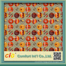 Newest printing designs of printed pvc film for table cloth and shower curtain