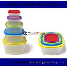 Stackable Distinguishable Plastic Container Box Mold