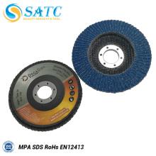Discos abrasivos de aleta de alto rendimiento para pulido y acero