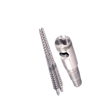 conical twin screw barrel for extrusion machine