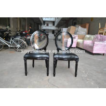 Black glossy event party furniture chair XY0101-1