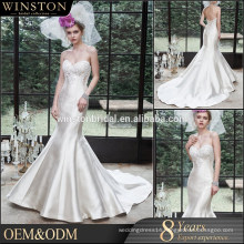 OEM factory floral satin robe kimono dressing gown bronze color wedding dresses