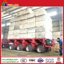 Hydraulic Optional Modular Trailer for Bulk Cargo Transport