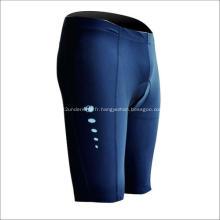 Short de sport bleu élégant adapté à l'équitation