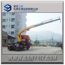 375HP HOWO 6X4 Tractor Truck with Crane Tractor Truck