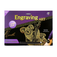 Arte de la lona provee cero creativo Winsor y Newton tarjetas oro Koala