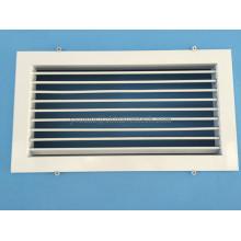 Алюминиевый диффузор системы отопления, вентиляции и кондиционирования воздуха Решетка с одинарным отклонением