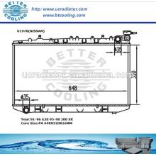 Radiator For NISSAN G20 91-96/200SX 95-98 OEM:21410-53J00/21410-57Y01