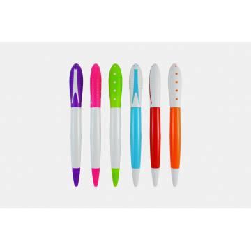 Mais recente venda de moda caneta plástica quente na China