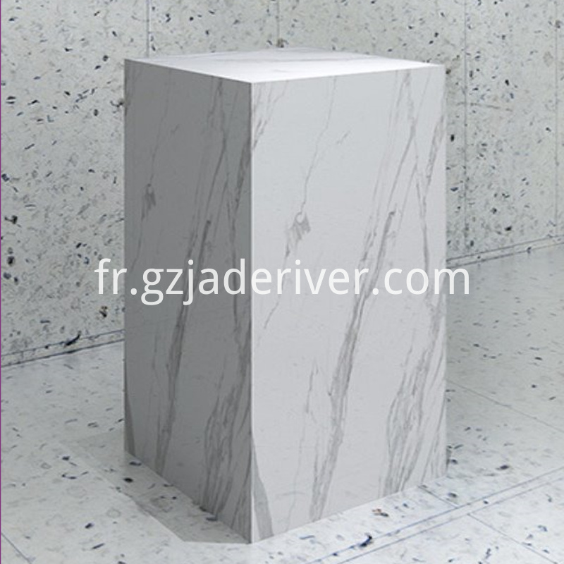 Processing Custom Marble Commercial Countertops