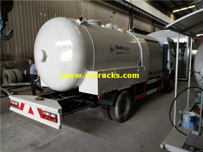 LPG Dispensing Tanker Truck