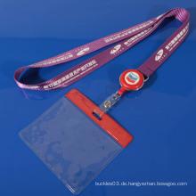 Custom Pailletten Lanyard für ID-Karte