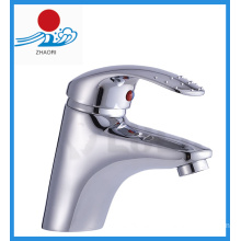 Hot and Cold Water Bathroom Basin Faucet Mixer Tap (ZR20102-A)