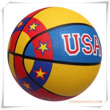 Se acepta el baloncesto de la promoción en diversos tamaños, logotipos modificados para requisitos particulares (OS24004)