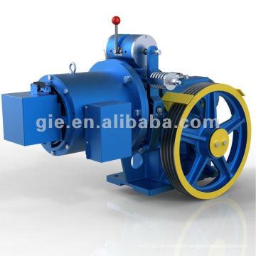 GIE 630Kg 1.0m/s worm gear motor
