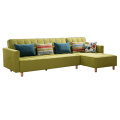Folding Fabric Futon Daybed Chaise Sofa Bed