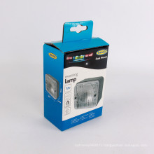 Boîte faite sur commande d'emballage de lumière de lampe d'automobile faite sur commande
