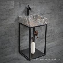 2018 new design bathroom granite vanity tops with vessel sink