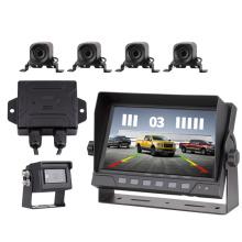 Truck parking sensor reversing radar host and sensor car radar camera system