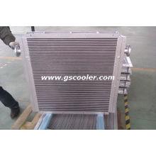 Refrigerador de aceite de aire para compresor de tornillo