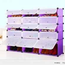 Gabinete de alta calidad de los zapatos del estante de los PP