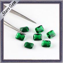 Top Gramed Esmeralda Octagon Cutcubic Zirconia Gemstone Beads